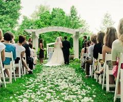 Matrimonio all'aperto: come fare