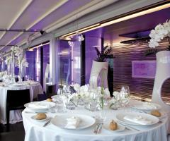 Romeo Hotel - Allestimento tavoli per matrimoni