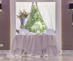Villa Demetra - Il tavolo degli sposi