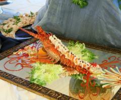 Menu di pesce al matrimonio
