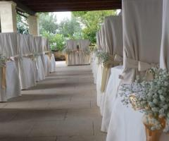 Cerimonia civile a Villa Sant'Elia