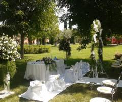 Torre Giulia - Cerimonia di nozze in giardino