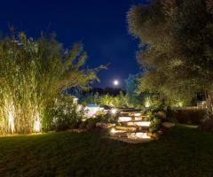 Masseria Eccellenza - Il giardino di sera