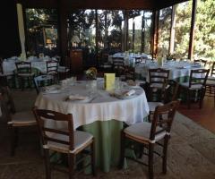 Masseria Montepaolo - La sala ristorante
