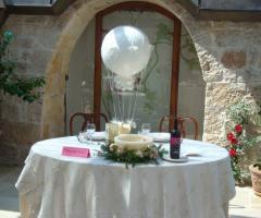 Masseria del Gelso Antico - Il tavolo degli sposi