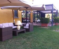 Villa Aretusi - Angolo relax per il matrimonio