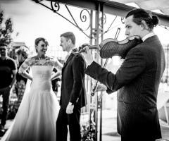 Il giardino di Villa Lina - La festa di nozze a Venezia