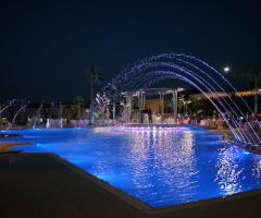 Villa Reale Ricevimenti - La piscina illuminata