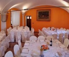 Ricevimento di matrimonio in un castello