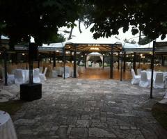 Casa Isabella - Il gazebo per il matrimonio all'aperto