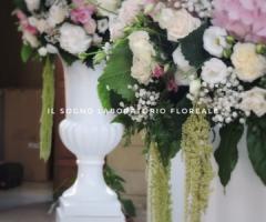 Il Sogno - Laboratorio Floreale - colori floreali in chiesa