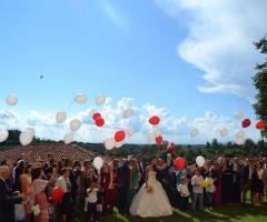 Castello di Cortanze - La festa degli sposi