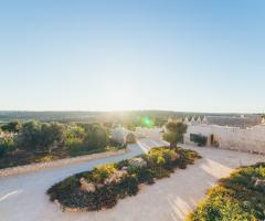 Masseria Grieco - La vista panoramica