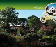 Masseria del Gelso Antico - Una panoramica del giardino