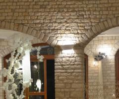 Mura della location di nozze