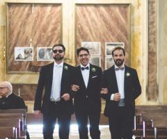 Francesco Caroli - I testimoni dello sposo