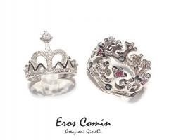 Eros Comin Gioielli - Fedi nuziali Royal Crown