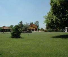 Parco della location di matrimonio