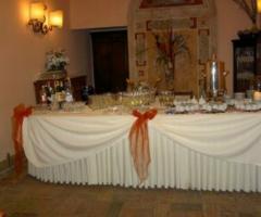 Buffet per le nozze