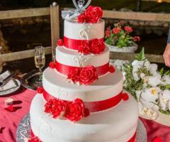 Villa Valente - La torta nuziale