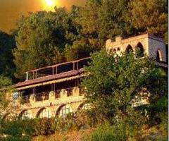 New Antica Rocca Donwivar - Vista della location al tramonto