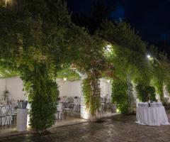 Villa San Martino - Il ricevimento di nozze serale