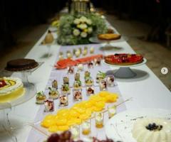 Villa Vergine - Il tavolo dei dolci