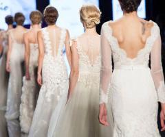 Dalle passerelle di Sì Sposaitalia Collezioni tutti gli abiti da sposa 2016