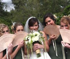 5 modi per ripararsi dal caldo nei matrimoni di luglio e agosto