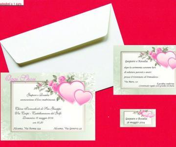 Segnaposto Matrimonio Meno Di 1 Euro.Partecipazioni A 1 Euro Inviti Di Nozze Originali E