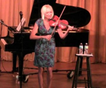 Laura Valenti violinista