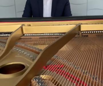 Diego Paltrinieri pianista per eventi