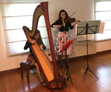 Claudia e Martina Duo Arpa e Violino