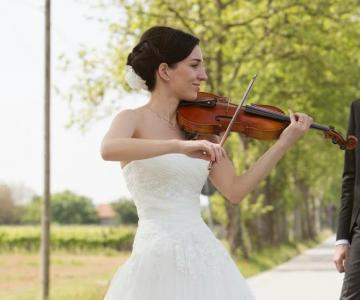 Martina violinista