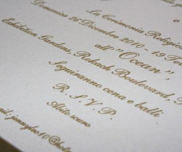Scritte Partecipazioni Matrimonio.Tipografia Pesatori Partecipazioni Nuziali A Milano Lemienozze It