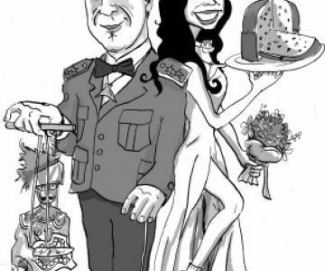 Valentino Menghi Ritratti e Caricature