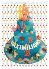 Nemo's cake per il compleanno