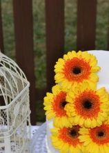 Wedding Cake tema girasoli