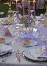 Matrimonio In Lilla : Fiori e allestimenti per un matrimonio in lilla pagina