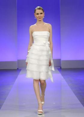 Vestito da sposa corto Cymbeline