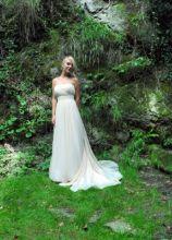 Abito da sposa con coda sinuosa - Collezione Princesses