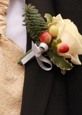 Bouttoniere sposo - Fioreria Gabriella