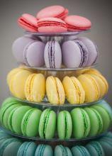 Macarons colorati per il matrimonio