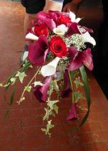Bouquet per la sposa a cascata