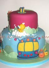 Torta decorata per il compleanno