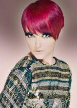 Extension ciglia by Xtreme Lashes e capelli rosso acceso