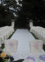 Location per la cerimonia di matrimonio all'aperto