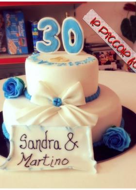 Torta per il compleanno - Le Piccole Follie Cake Design