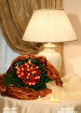 Bouquet di fiori e peperoncini