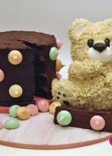 Torta per il compleanno Vintage Bear